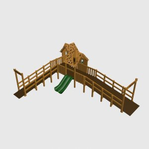 Детский игровой комплекс VikingWood Тироль 2